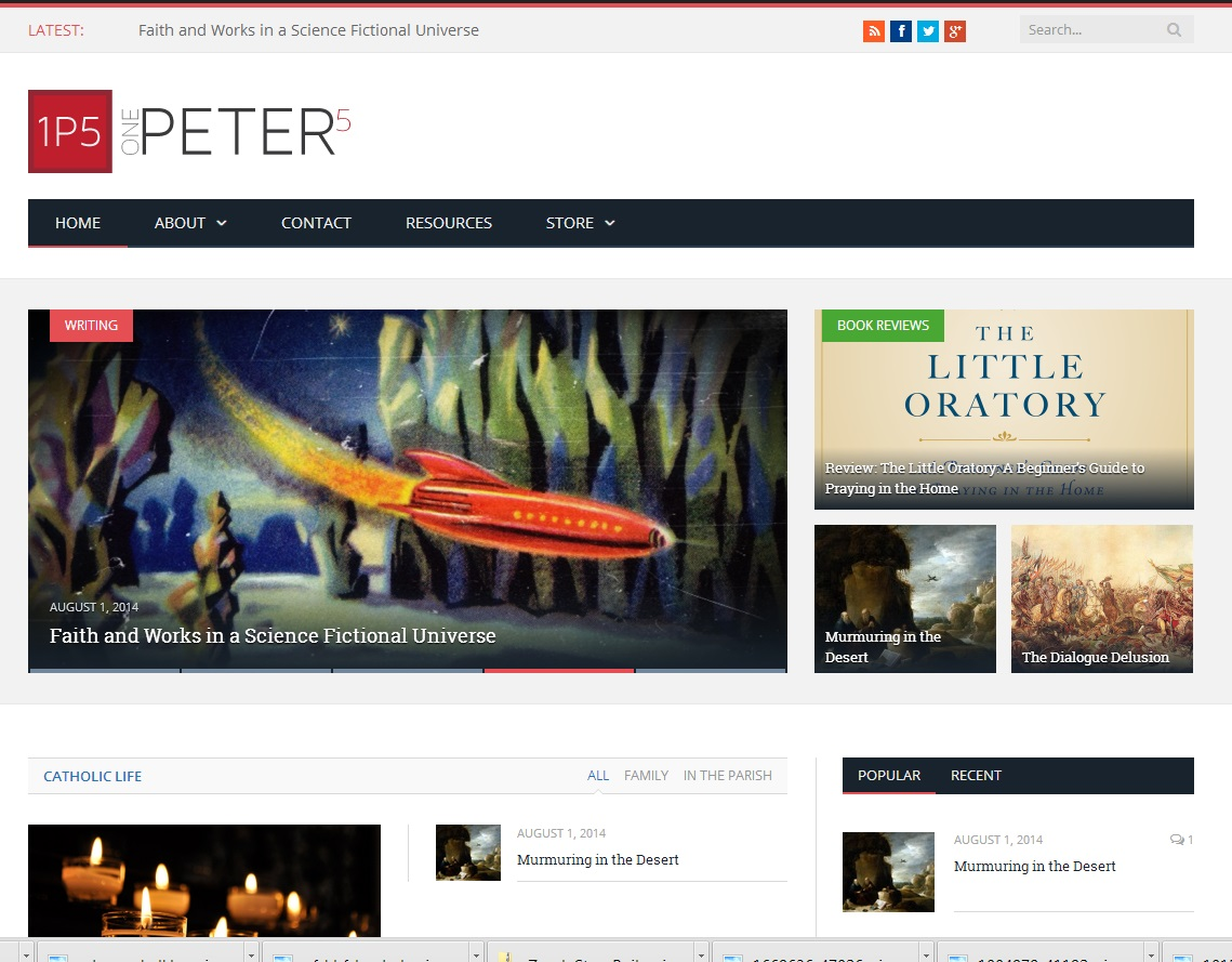 The Successful Launch of OnePeterFive